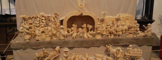 Vyřezávaný městský betlém Žďár nad Sázavou
