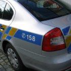 Policejní auto, policie, měření rychlosti