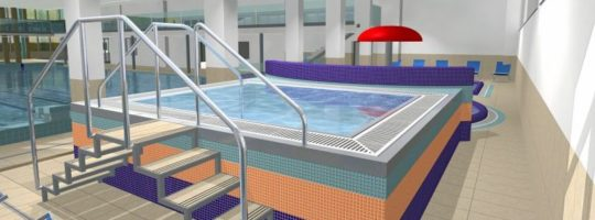 Vířivka, bazén Žďár nad Sázavou