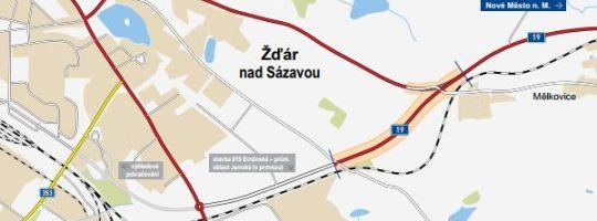 Přeložka silnice Žďár nad Sázavou - Mělkovice