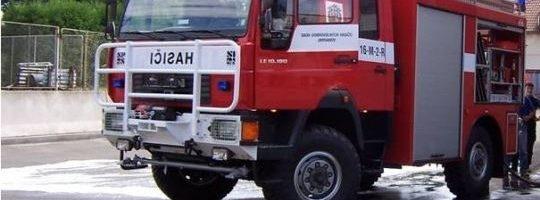 Nákup hasičského auta by mohla podpořit i krajská dotace