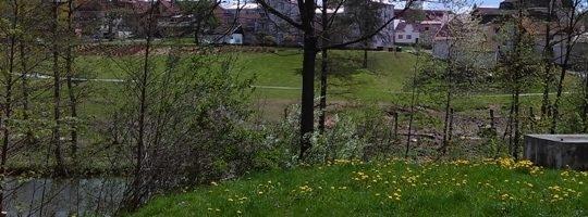 Park Farská humna Žďár nad Sázavou