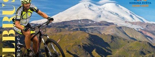 Horolezec Radek Jaroš vyrazí na cestu k Elbrusu na kole