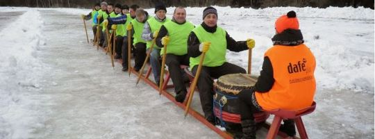 DRAGON BOAT RACE ON ICE 2016