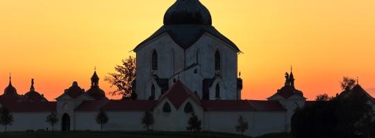 Poutní kostel sv. Jana Nepomuckého na Zelené Hoře, Žďár nad Sázavou