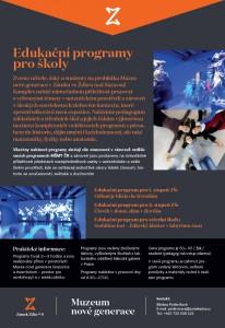 Edukační programy pro školy