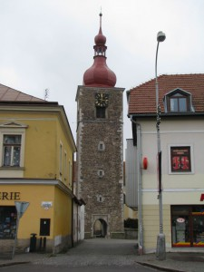 Přibyslav - věž