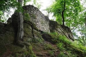 Zřícenina hradu Skály (Štarkov)