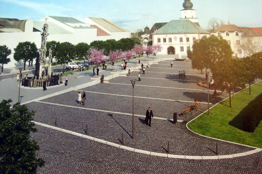 Rekonstrukce náměstí začne kácením