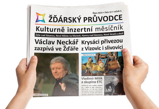 Kulturně inzertní měsíčník Žďárského průvodce