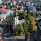 Vratislavovo náměstí Nové Město na Moravě