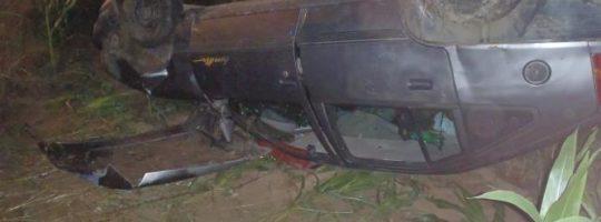 Nehoda osobního automobilu u Polničky