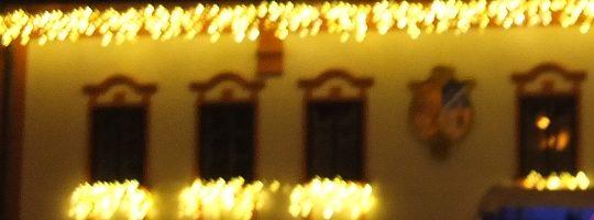 Vánoční výzdoba Žďár nad Sázavou
