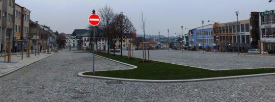 náměstí Republiky Žďár nad Sázavou