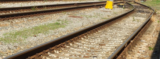 Železnice, koleje, vlak