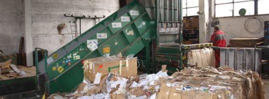 Odas, třídění odpadu