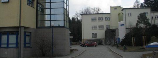 Plánovaná zastávka v areálu Nemocnice Nové Město na Moravě