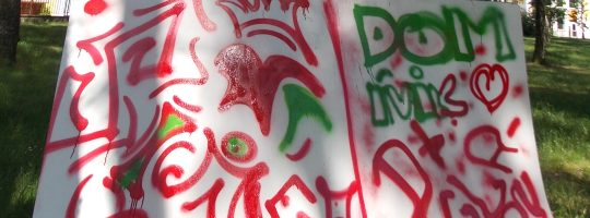 Street ART s Ponorkou