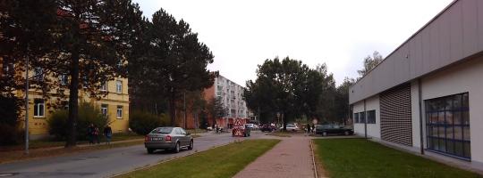 Rekonstrukce silnice ve Žďáře nad Sázavou