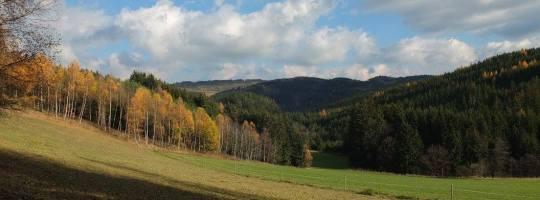 Podzimní krajina - Vysočina
