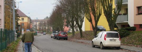 Přechod pro chodce - Okružní ulice Žďár nad Sázavou