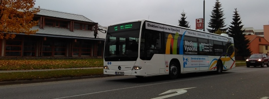 Autobus MHD Žďár nad Sázavou