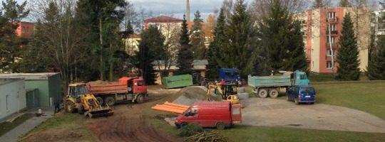 Rekonstrukce hřiště - 4. Základní škola Švermova, Žďár nad Sázavou