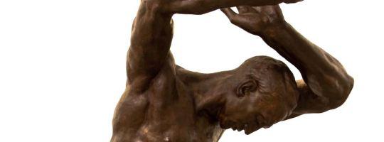 Jan Štursa - socha Raněný