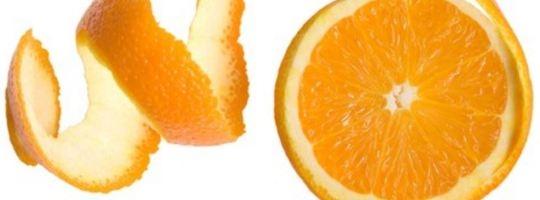 Pomerančová kůra pro Afriku