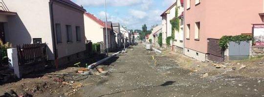 Smetanova ulice Žďár nad Sázavou