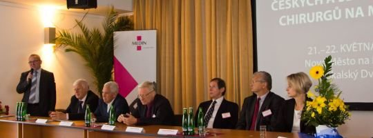 Čeští a slovenští chirurgové se opět setkají na Moravě