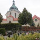 Zelená hora - hřbitov Žďár nad Sázavou