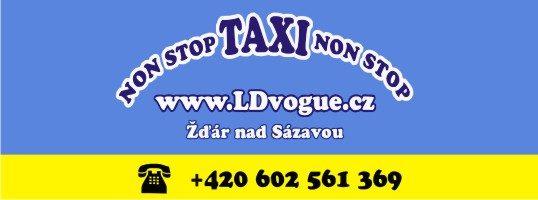 nonstop Taxi NONSTOP Žďár nad Sázavou