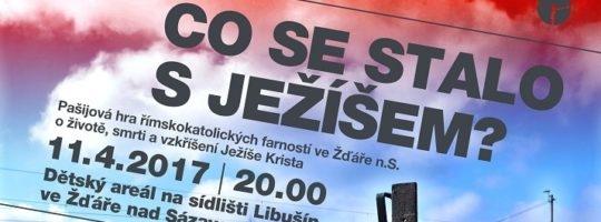 Pašijová hra se letos na Libušíně uskuteční 11. dubna