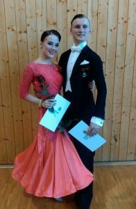 Kamil Talpa a Veronika Barešová