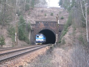 První tunel