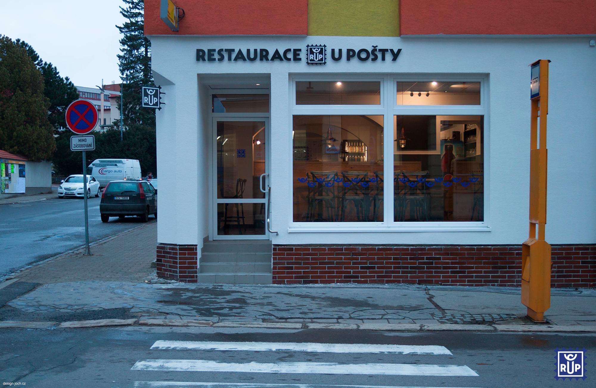 RUP - Restaurace u pošty Žďár nad Sázavou