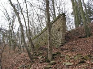 Zbytky hradu Lúčka